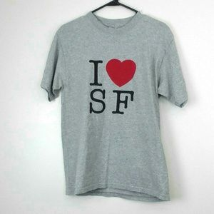 I Love San Francisco California T-Shirt Medium